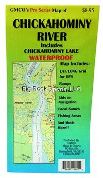 GMCO 11600PS Chickahominy River Map