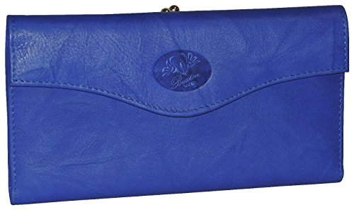 Buxton Heiress Organizer Clutch - Ultramarine
