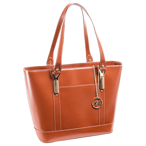 McKlein USA Arya, Leather Ladies' Tote with Tablet Pocket...
