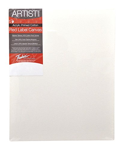 Fredrix 5031 Stretched Canvas, 24 by - Canvas Large Stretched