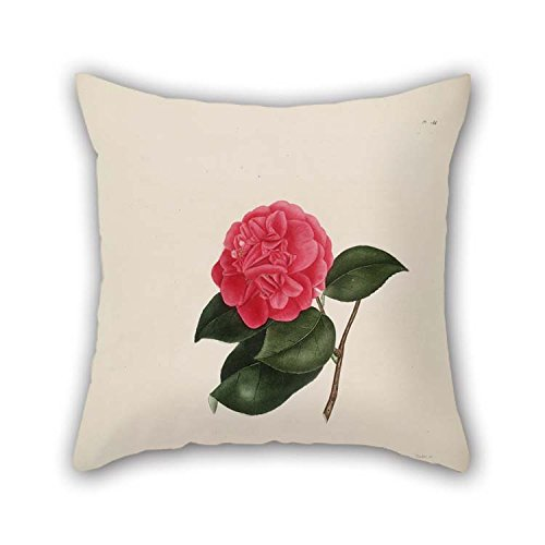 45 cm Flower Throw Pillow Covers Double Sides Ornament Gift to Boy Friend Living Room Bedding Chair Home Club ()