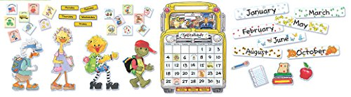 Eureka Suzy's Zoo Calendar Set Bulletin Board Set (847623)