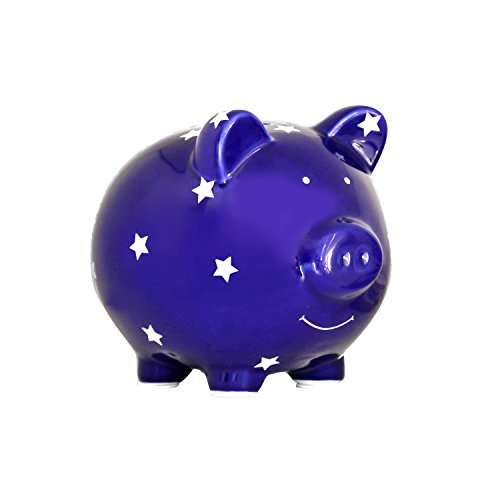 (Pearhead Ceramic Piggy Bank, Makes a Perfect Unique Gift)