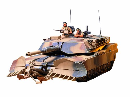 Tamiya Models M1A1 Abrams Tank with Mine - Tank M1a1
