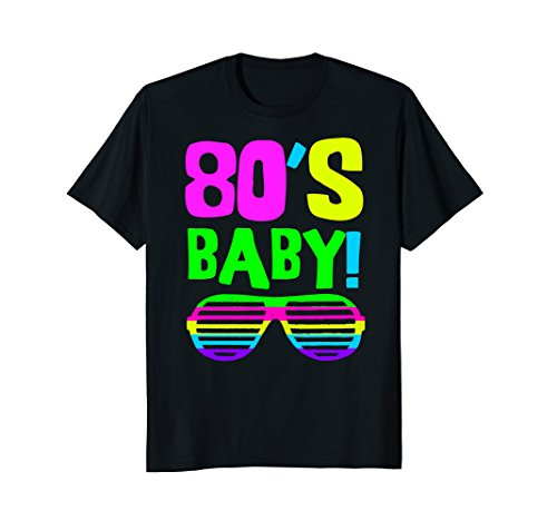 * NEW * Neon 80s Baby Party Wear Shirt for Ladies- S to XL