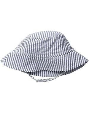 Baby Boys' Cotton UPF 50+ Crusher Hat