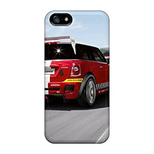 Protective Hard Cell-phone Case For Iphone 5/5s With Customized Fashion Mini Cooper Image DannyLCHEUNG