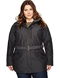Columbia Women's Plus Size Carson Pass ii Jacket, Black, 2X