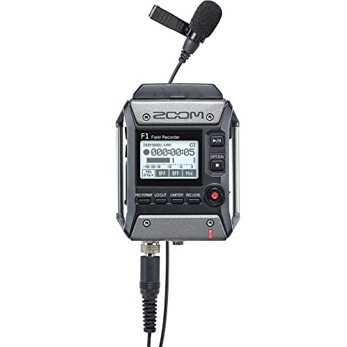 - ZOOM zoom field recorder, lavalier microphones F1-LP (Japan Domestic genuine products)