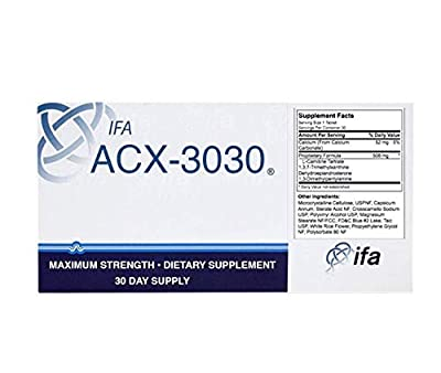 ACXI-3030 Weight Loss Aid,Advanced Energy Supplement 30 Count