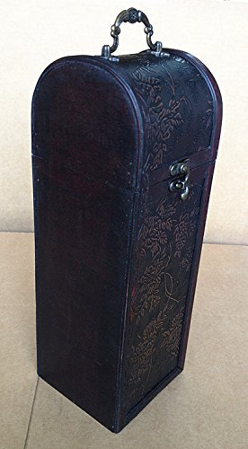 Hf 032 B Smart Exquisite Vintage-style Single Wine Storage Decorative Arts
