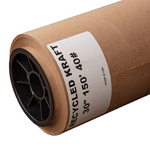 Kraft Paper Roll 30'' X 1800'' (150ft) Brown
