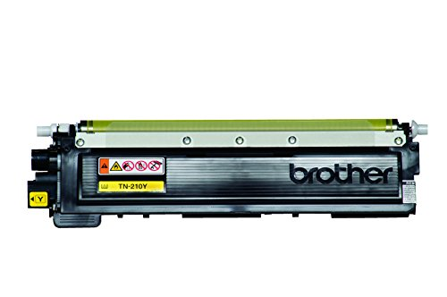 Brother Genuine TN210Y Color Laser Yellow Toner Cartridge by Brother