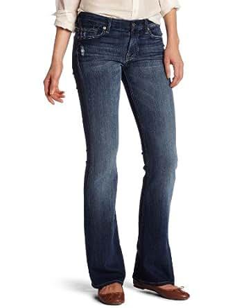7 For All Mankind Women's Kimmie Bootcut Jean in California Del Sol, California Del Sol, 24
