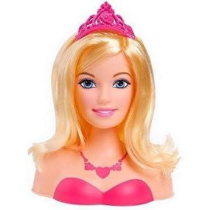 Barbie Princess Popstar Styling Head dp BESS