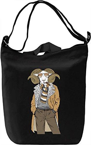 Classy ram Borsa Giornaliera Canvas Canvas Day Bag| 100% Premium Cotton Canvas| DTG Printing|