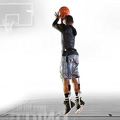 Spalding Jump Strength, Variable Length, Black/Silver