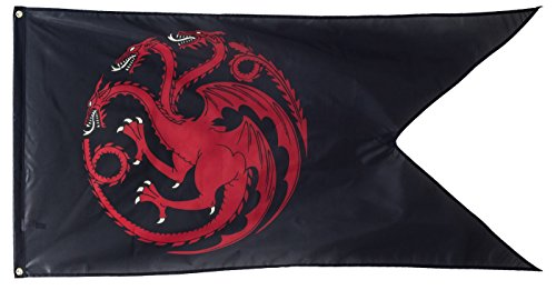 (Game of Thrones Outdoor Flag (House Targaryen))