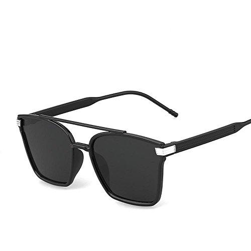 Aoligei Mode lunettes de soleil rétro élégant grosse boîte couleur film couleur lumineuse réfléchissant lunette de soleil K436GD
