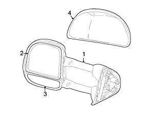 amazon ford 5c3z 17d742 baa cover mirror housi automotive Motorcycle Side Lights share facebook twitter pinterest