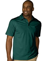 Men's Dry-Mesh Hi-Performance Wrinkle Resistant Polo Shirt