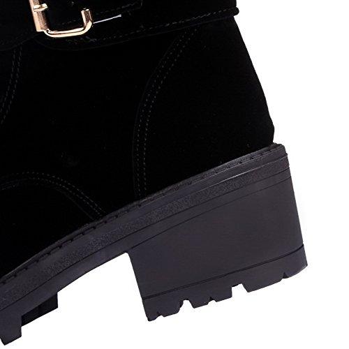 Para Negro mujer Zapatos cerrados AdeeSu Sq4Eq