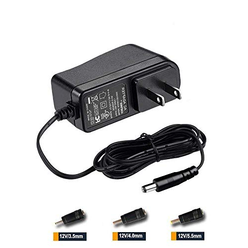 12V AC Adapter Power Supply Compatible Seagate Freeagent Goflex, WD Western Digital My Book External Hard Drive Charger Cord