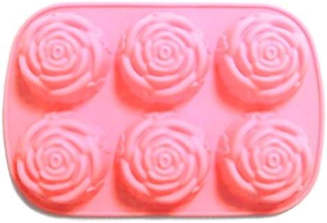 バラ 薔薇 シリコンモールド ジュエリー アクセサリー パーツ レジン 手作り 石鹸 型 抜き型
