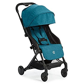 Contours Bitsy Compact Fold Stroller Extended Canopy For UV Protection Reclining Seat Airplane