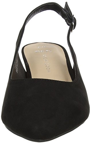 New Look Wide Foot Skinny, Escarpins Bout Fermé Femme Black (Black 1)