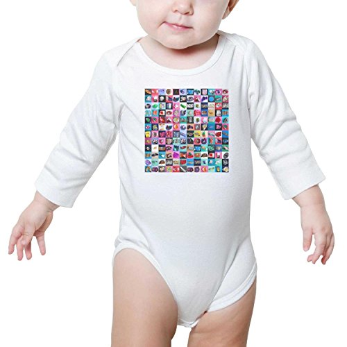 PROOJJEW Blue Pink Mini Bulk Candy Bags jar Baby Onesies Long Sleeve Loafer by PROOJJEW