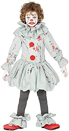 Magic Box Kids New Pennywise Style Grey It Disfraz de Payaso Small ...