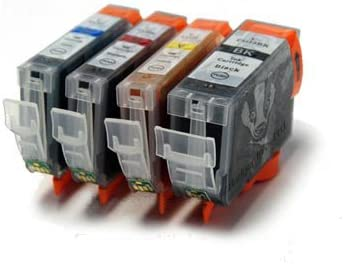 4 cartuchos de tinta para impresora Canon Pixma iP4000 ...