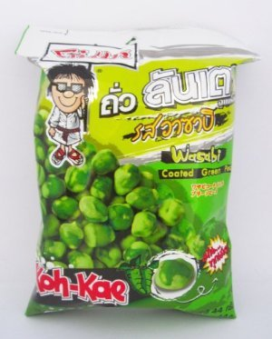 Koh-kae Wasabi Coated Green Peas 44 G.