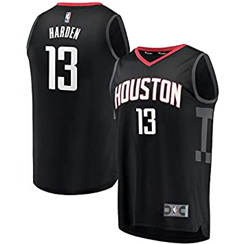 NBA Houston Harden 13 Fan Men Jersey Hombres (Negro, L): Amazon.es: Deportes y aire libre