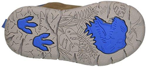 Clarks Brontoglow Inf, Zapatillas para Niños Marrón (Brown/Comb)
