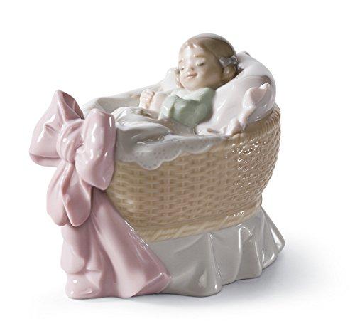 Lladro A New Treasure Girl Porcelain Figurine, 01006977 by Lladro