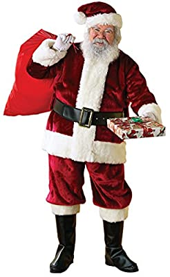 Rubie's Crimson Regency Plush Santa Suit