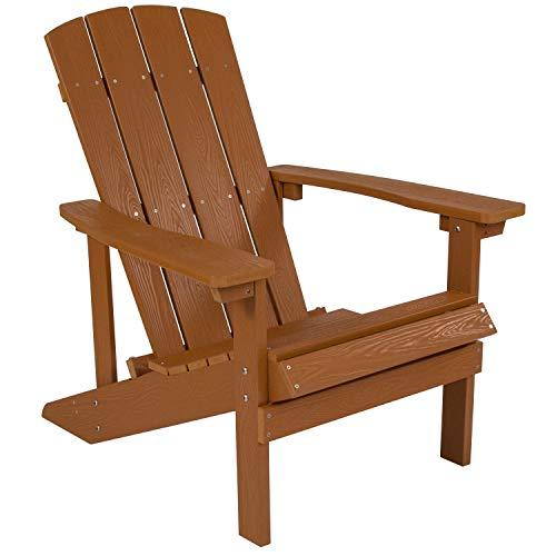 Flash Furniture JJ C14501 TEAK GG Adirondack Chairs, Teak