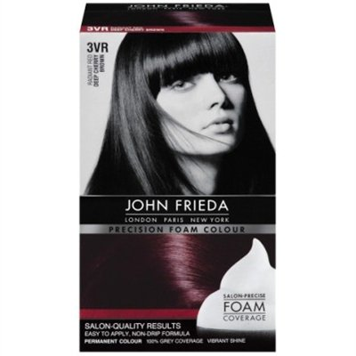John Frieda Precision Foam Colour Radiant Red  3VR 1 Each