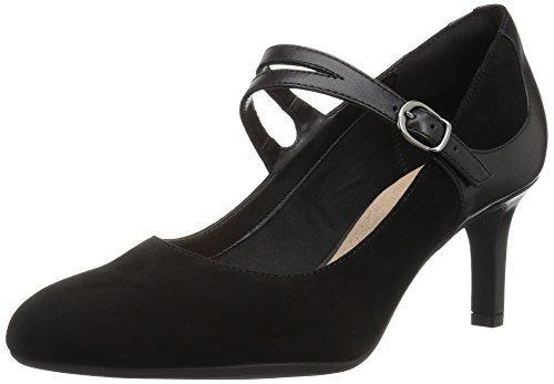 CLARKS Women's Desert Boot. Chukka Black Suede