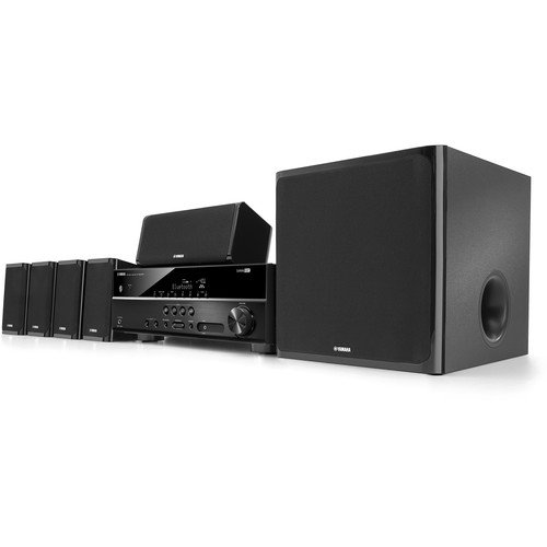 Yamaha 5.1 channel 600-Watt Bluetooth 3D Home Theater System by Yamaha