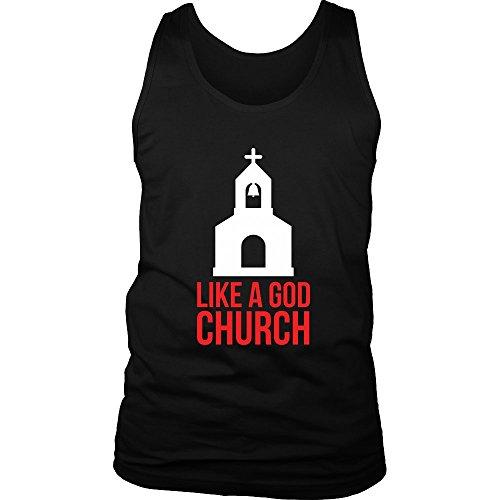 Like A God Church Mens Tank Top (Jake Paul Like A God Church Shirt)