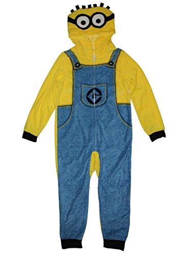 Despicable Me Minions Boys Union Suit 4-16 (L (10/12)) (Kids Minion Suit)