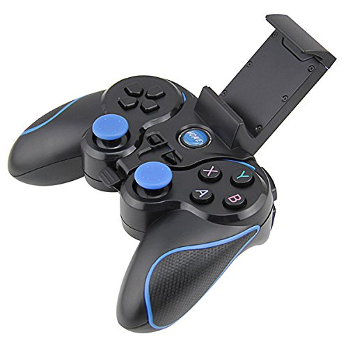 Wireless Bluetooth Gamepad with Clip for Android Phone/Tablet/TV Box/Gear VR/Emulator- Game Controller for Computer PC Games- Hardware Laptop Joystick/Joypad Console by MarioRetro