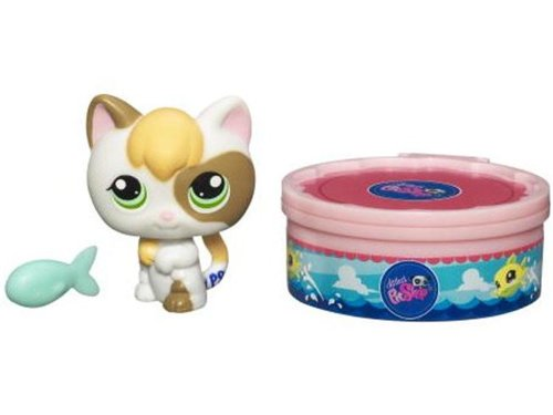 Littlest Pet Shop 2010 Assortment B Series 3 Collectible Figure Kitten Hasbro Toys 94128