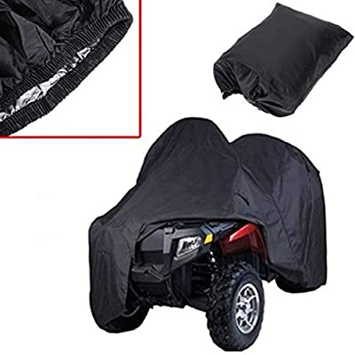 JS-YHLUSI Protective Cover, Outdoor ATV Dust Guard (Upgrade), Polyester Waterproof Anti-UV, Suitable for Beach