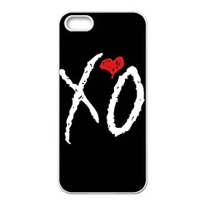 Special Design Cases iPhone 5, 5S Cell Phone Case White Dbxhq The Weeknd XO Durable Rubber Cover