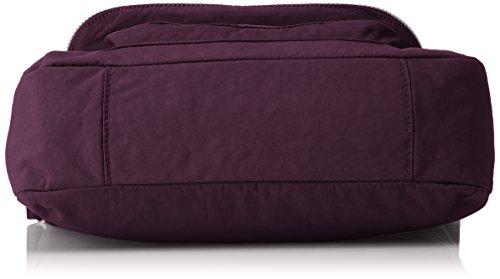 Purple Morado de Garan Plum y bolsos hombro Kipling Mujer Shoppers awzn77x01