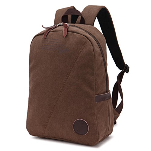 FZHLY Bolso Simple Lienzo De Corea,Brown BBrown